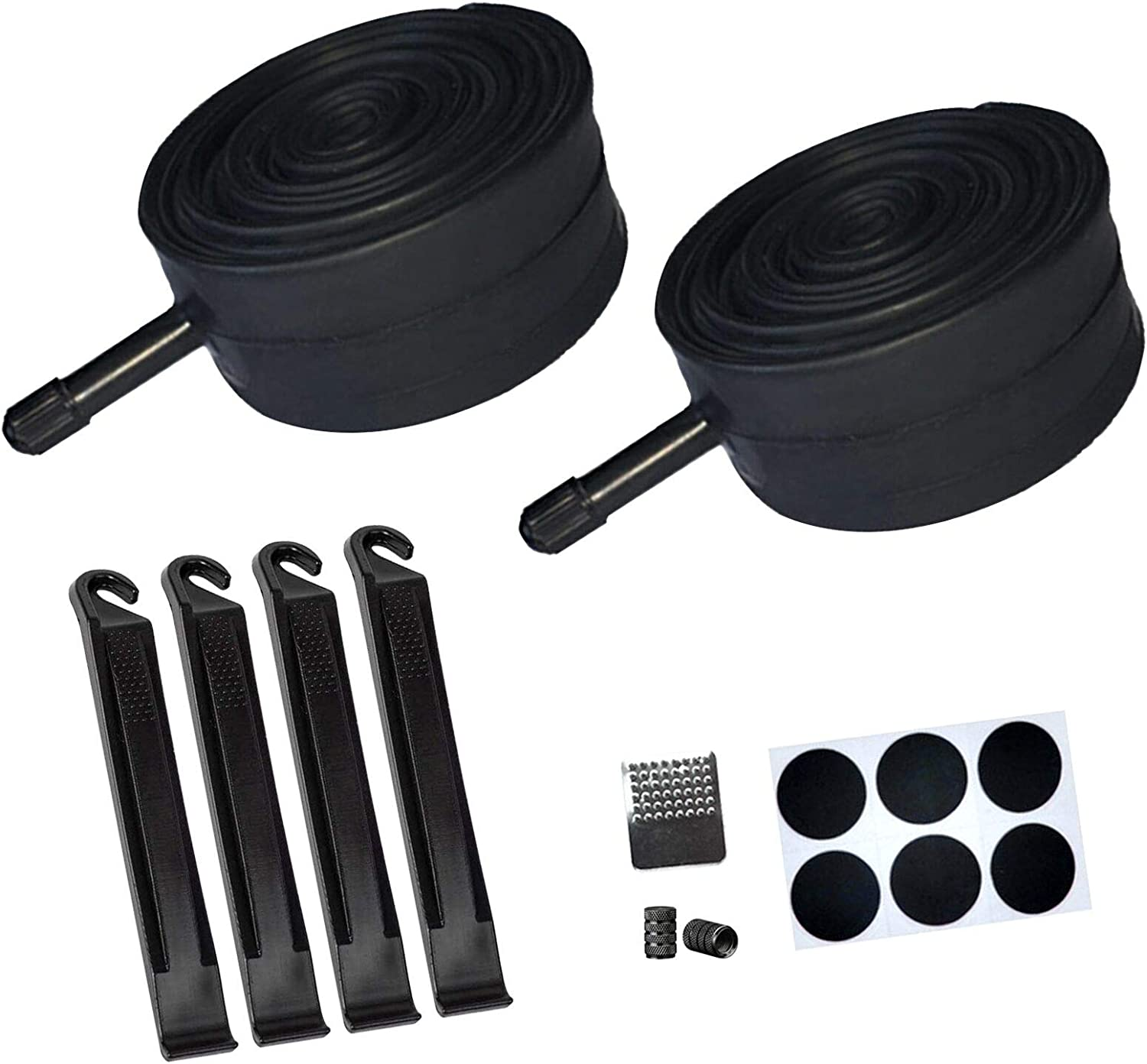 """2 x 20/"""" inch Bike Inner Tube 20 X 1.75-2.15 Bicycle Rubber Tire Interior BMX"""