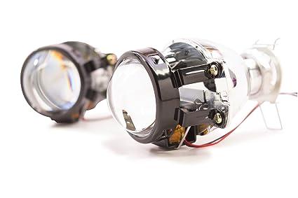 BI-Xenon Morimoto Matchbox luz de carretera/luz de cruce Retrofit ...