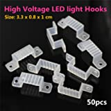50pcs High Voltage LED light hooks