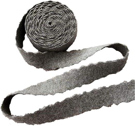 Cinta de satén de 25 mm con borde ondulado y lazo de algodón hecho ...