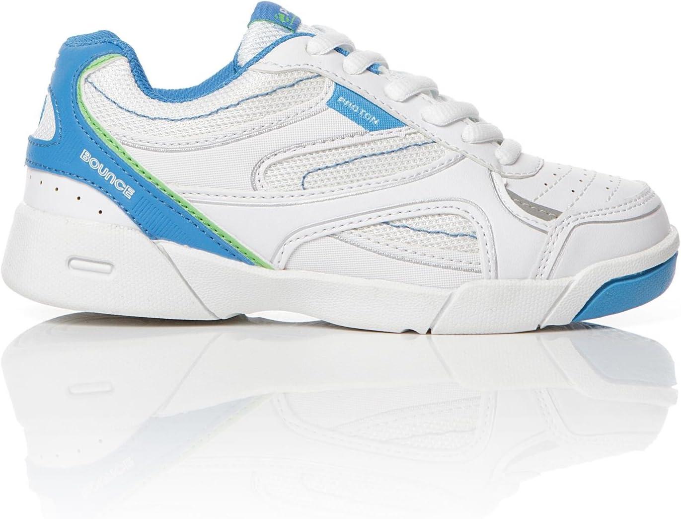 Zapatillas Tenis Blancas Niño Proton (28-35) (Talla: 33): Amazon.es: Deportes y aire libre