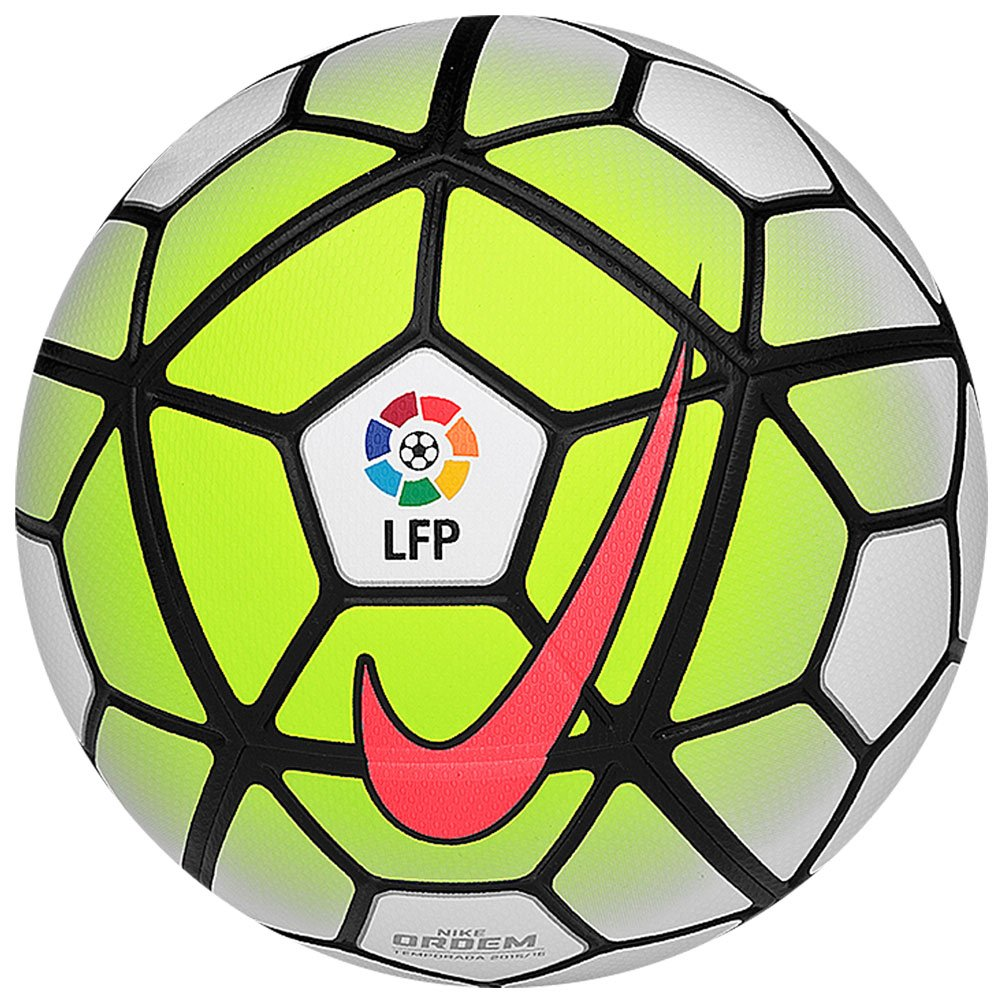 Nike Ordem LFPボール[ホワイト] (5 ) B00VRJSB04