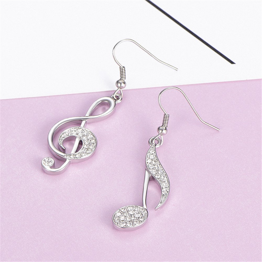 763eb7a5184f Multi-Earring pendientes tous Europa y América elegancia temperamento  diamantes notas creatividad moda asimetría plata  Amazon.es  Joyería