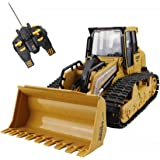 CR 6 Channel Full Function RC Crawler Excavator Tractor Remote Control Construction Bulldozer Front Loader Dump Truck