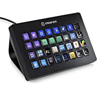 Elgato Stream Deck XL Wired Keypad with Back Lighting