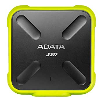 ADATA SD700 256GB External Solid State Drive (Yellow) External Solid State Drives at amazon
