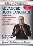 Advanced Body Language - Nonverbal Communication skills for Greater Understanding - Seminars On Demand Sales Skills and Professional Development Training Video - Speaker Bill Acheson - Includes Streaming Video + DVD + Streaming Audio + MP3 Audio