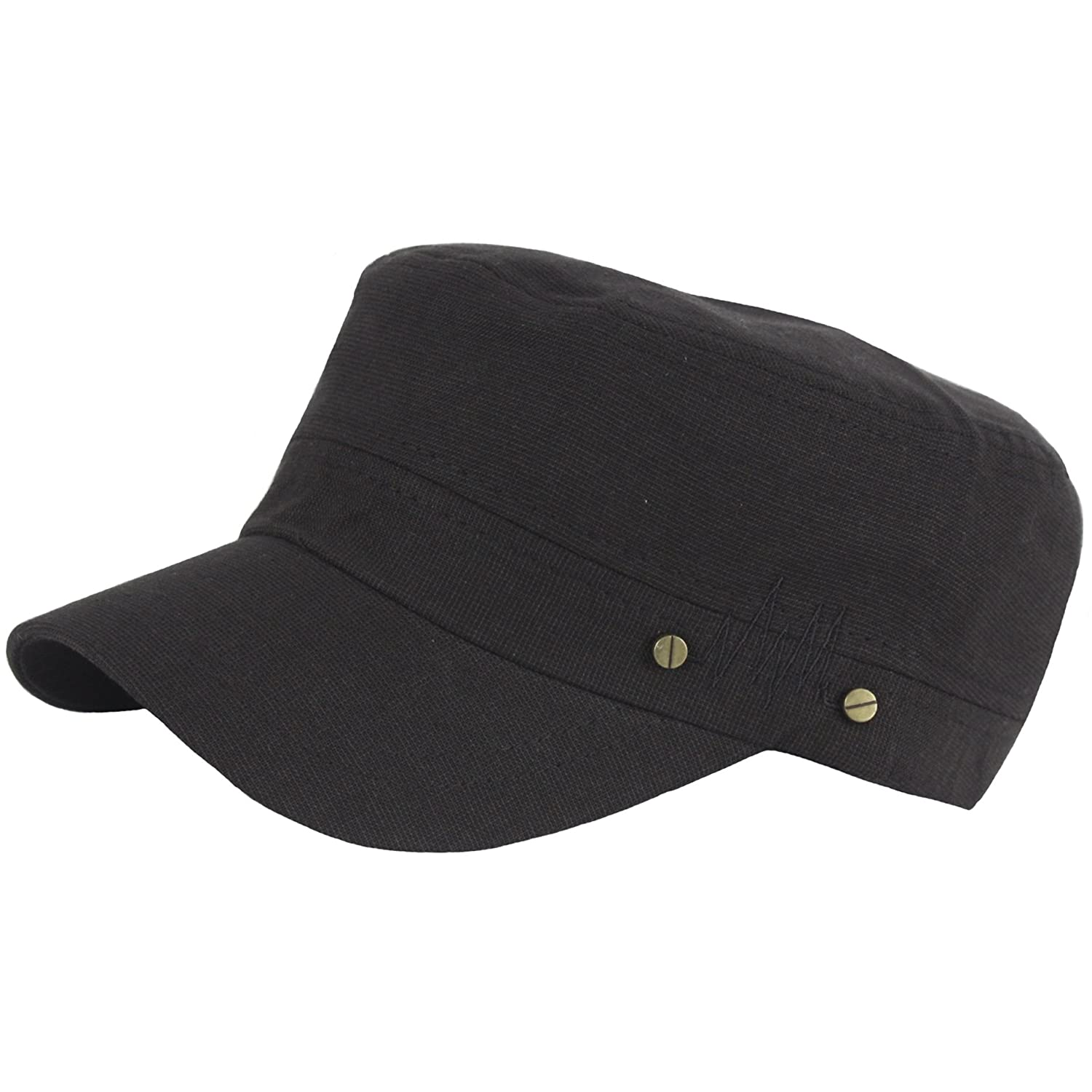 RaOn A163 New Pre-Curved Spread Bolt Point Frequency Club Army Cap Cadet Military Hat