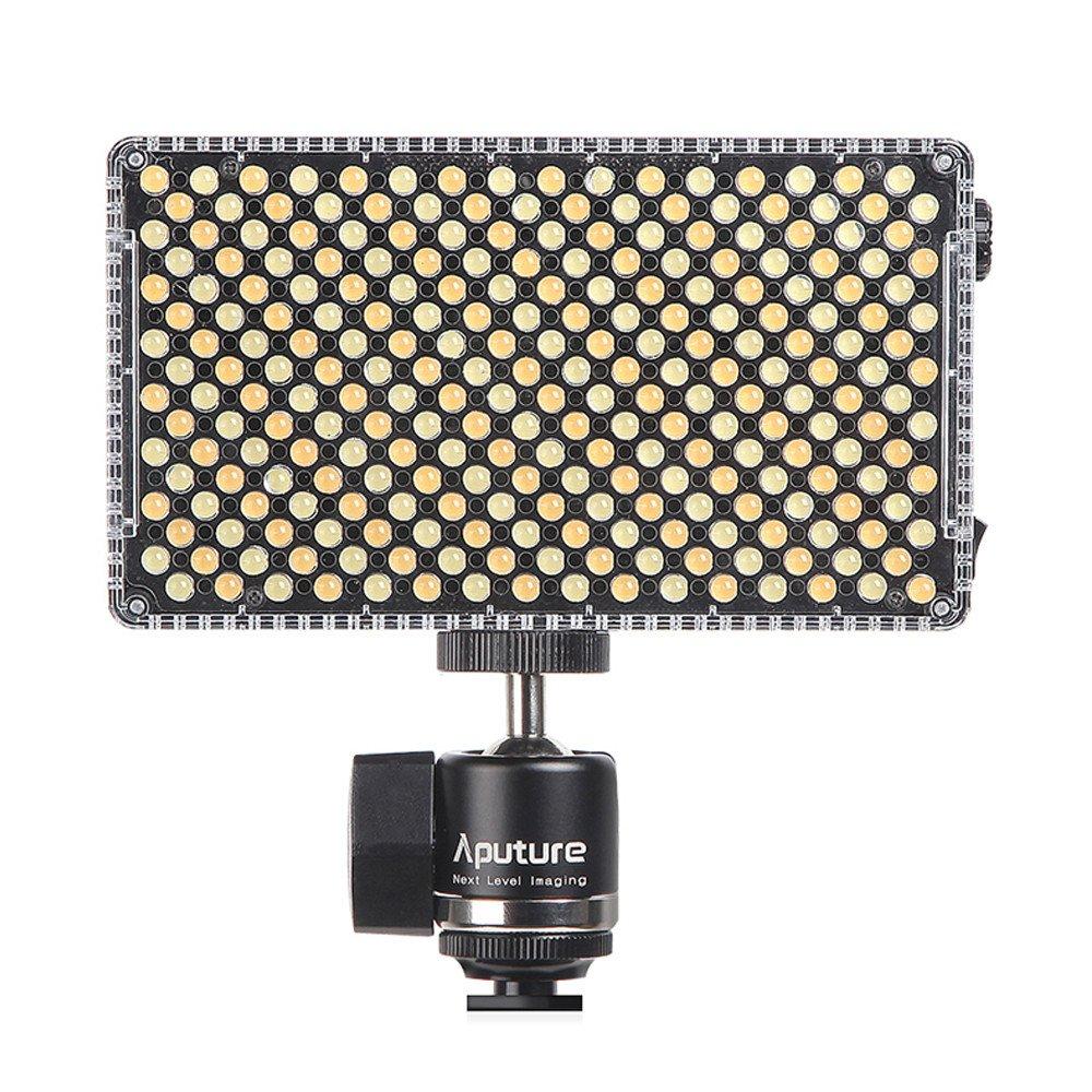 Aputure Amaran AL-F7 On Camera LED Video Light Color Temperature 3200-9500K CRI/TLCI 95+ Led Panel Versatile On-Camera LED Light (Updated version of Aputure Al-H198) by Aputure (Image #2)