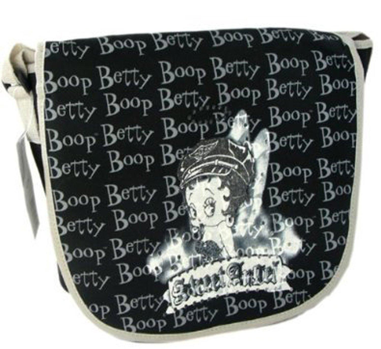 3daad97db4b9 Amazon.com  Betty Boop Messenger Bag - Biker Betty Book Bag  Sports    Outdoors