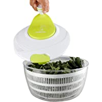 Redlemon Centrifugadora de Ensalada, Escurridora de Verdura y Secadora de Lechuga tipo Salad Spinner con Colador…