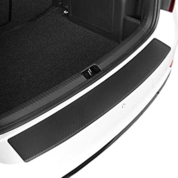 Tuneon 64368 0 Ladekantenschutz Carbon Folie Passform Auto