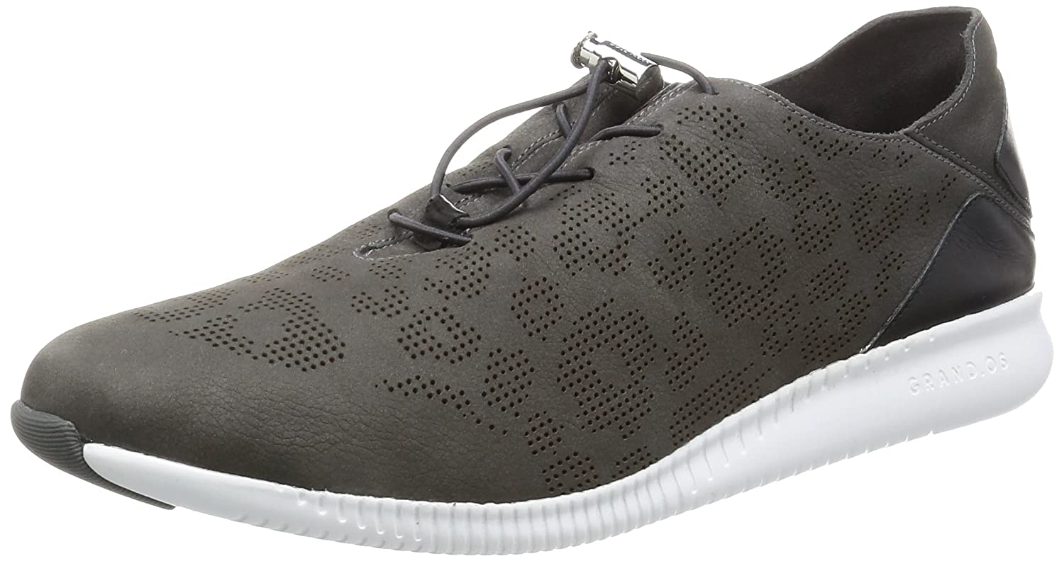 Cole Haan Women's Studiogrand P&g Trainer Fashion Sneaker B01MCT9H64 5.5 B(M) US|Magnet Perforated Ocelot/Black