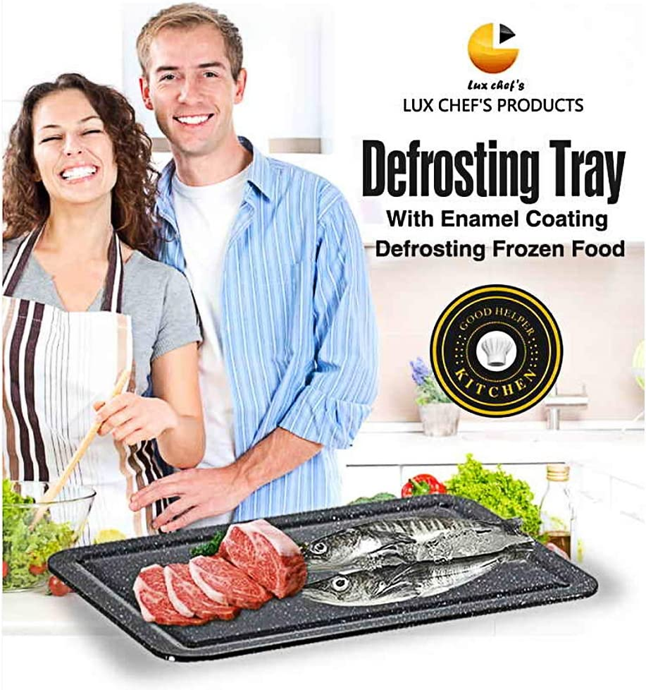 Kitchen Aluminum thawing Plate 9 Times Speed defrosting Food Aluminum Alloy Fast defrosting Tray
