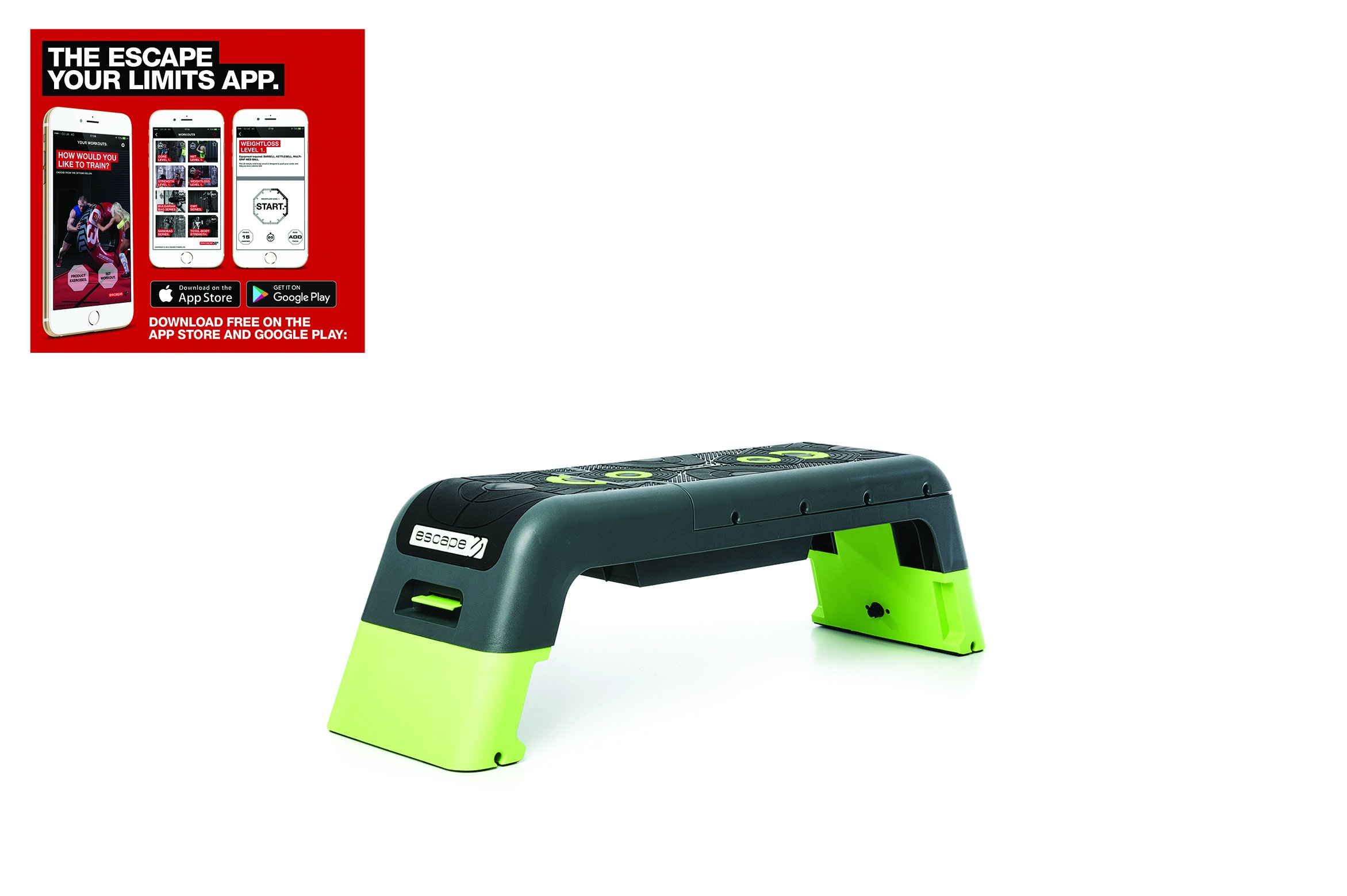 Escape Fitness Deck - Workout Bench and Fitness station by Escape Fitness USA (Image #4)