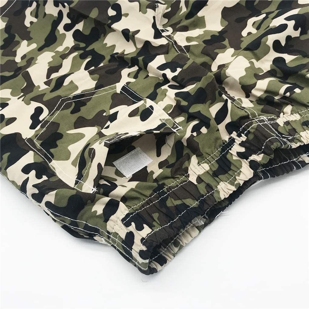 Xrknofio Boys Swim Trunks Quick Dry Camouflage Board Shorts Swim Shorts with Mesh Lining