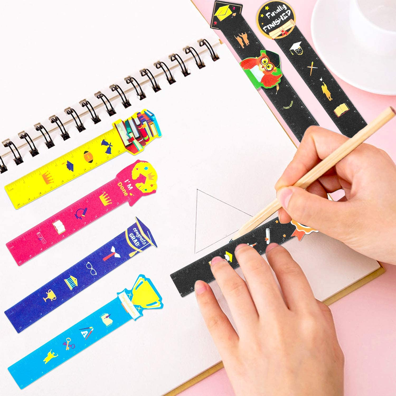 WATINC 120pcs Graduation Bookmark Rulers for Kids Class Teacher ...