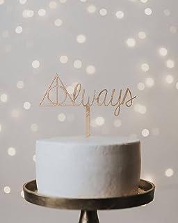 Harry Potter Wedding Cake Topper Always Cake Topper Harry Potter