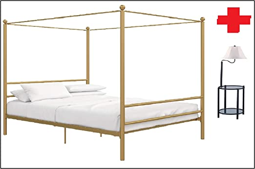 Amazon Com Mainstays Easy To Assemble Modern Design Full Size