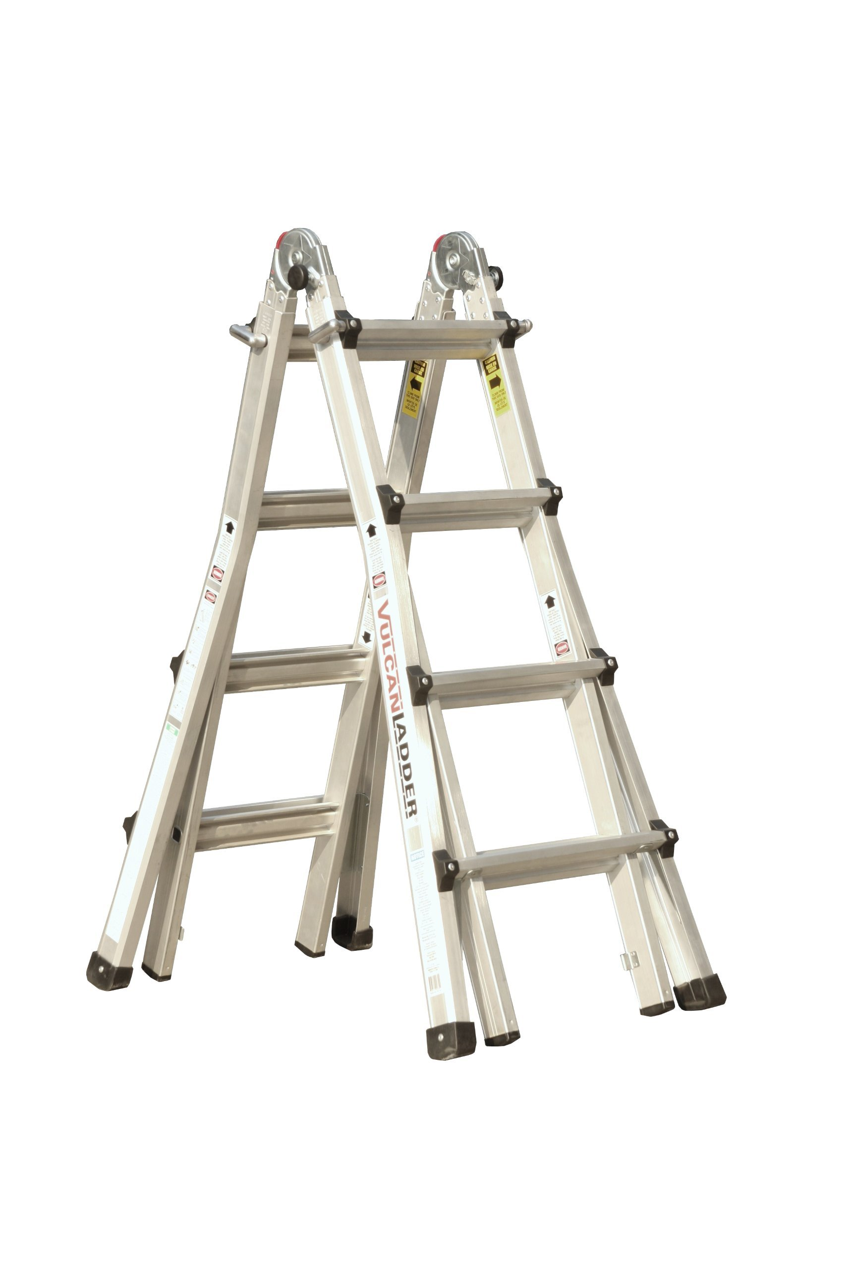 Vulcan Ladder USA 3600735401986540 Stepladder Multi-Task Alu 17Ft 17' MT by Vulcan Ladder USA (Image #1)