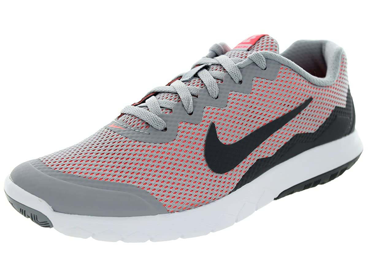 info for 35193 6fa5d Amazon.com   Nike Men s Flex Experience RN 4 (Wolf Grey Dark Grey-hot Lava) Running  Shoe, 7.5 B(M) US   Road Running