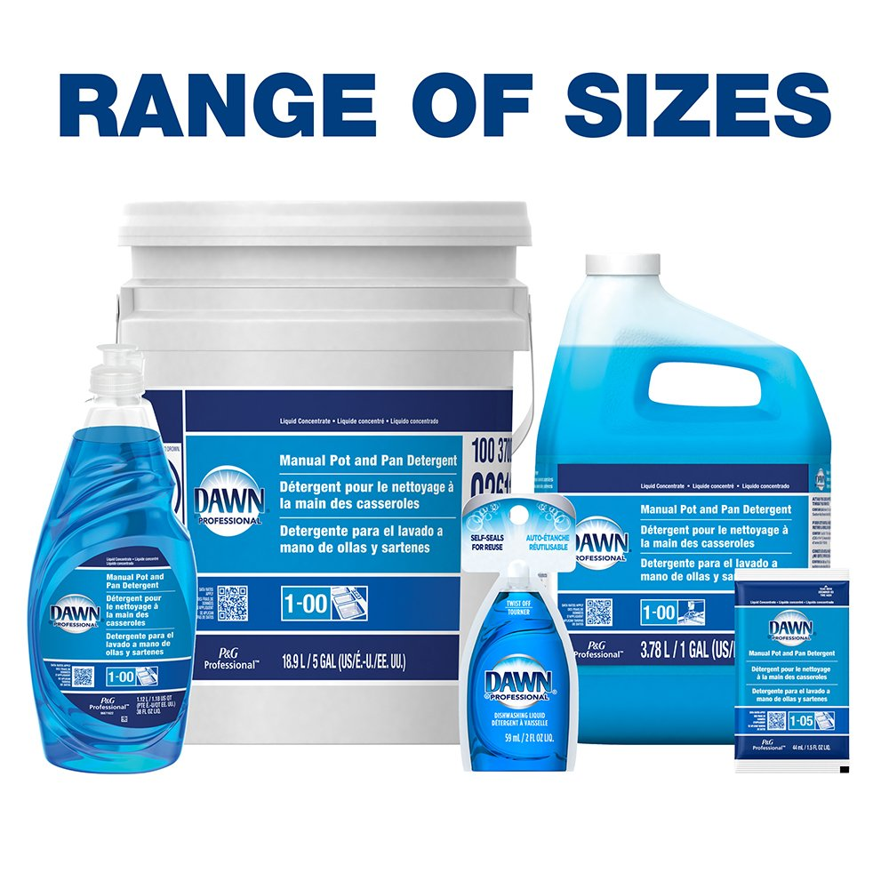 Dawn Professional Pot and Pan Detergent, Regular Scent, 5 Gallons by Dawn Enterprises (Image #5)
