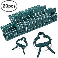 Pinzas de fijación de soporte de plástico