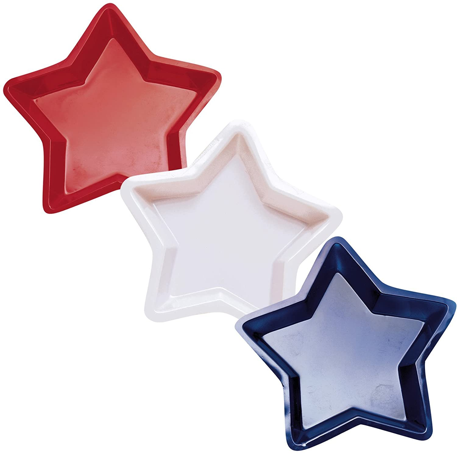 Party Star Tray 12 12 Amscan 439658