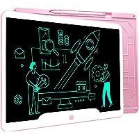 Richgv Tableta de Escritura LCD 15 Pulgadas, Pizarra Digital Talla Grande, Juguetes para niños para Dibujar y Escribir…