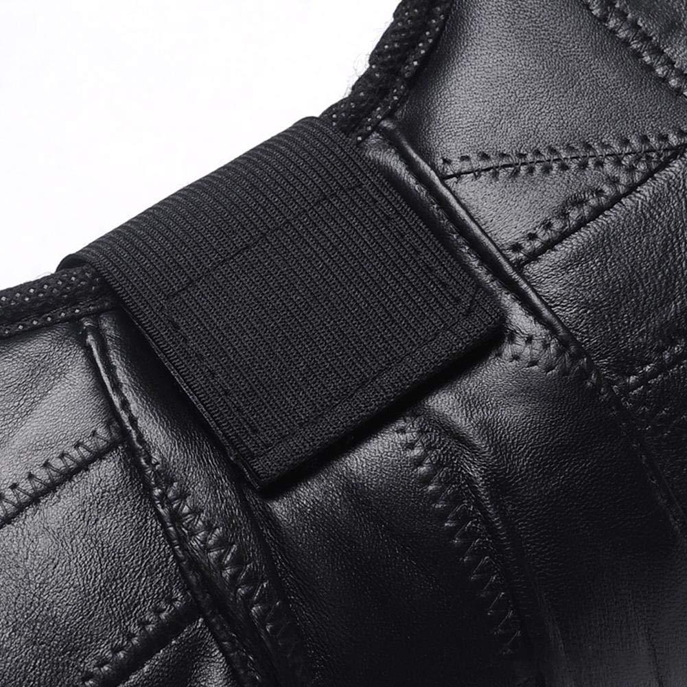 waysad Leather Electric Rodillera de Cuero c/álido,Calentador de Rodilleras para Piernas m/ás C/álidas a Prueba de Fr/ío Seguridad Rodilleras de Piel Invierno para el Invierno Moto de Nieve Moto Current