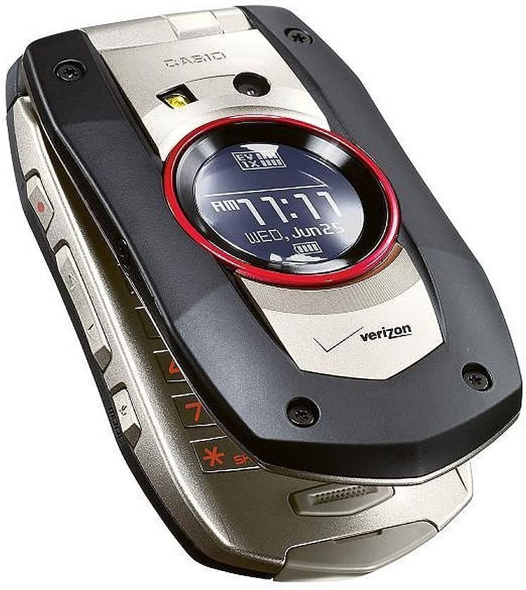 Verizon Casio GzOne Boulder No Contract PTT Rugged 3G Cell Phone