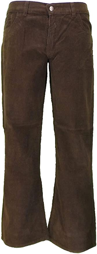 Men's Vintage Pants, Trousers, Jeans, Overalls Mazeys Mens Retro Bootcut Flared Cords Trousers £29.99 AT vintagedancer.com