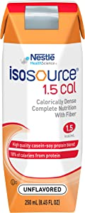 Nestle Clinical Nutrition Isosource 1.5 Cal Nutritional Supplement - Doy181500, 1 Pound, pack of 24