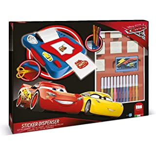 Multiprint- Cars 3 Sticker Dispenser, 08948