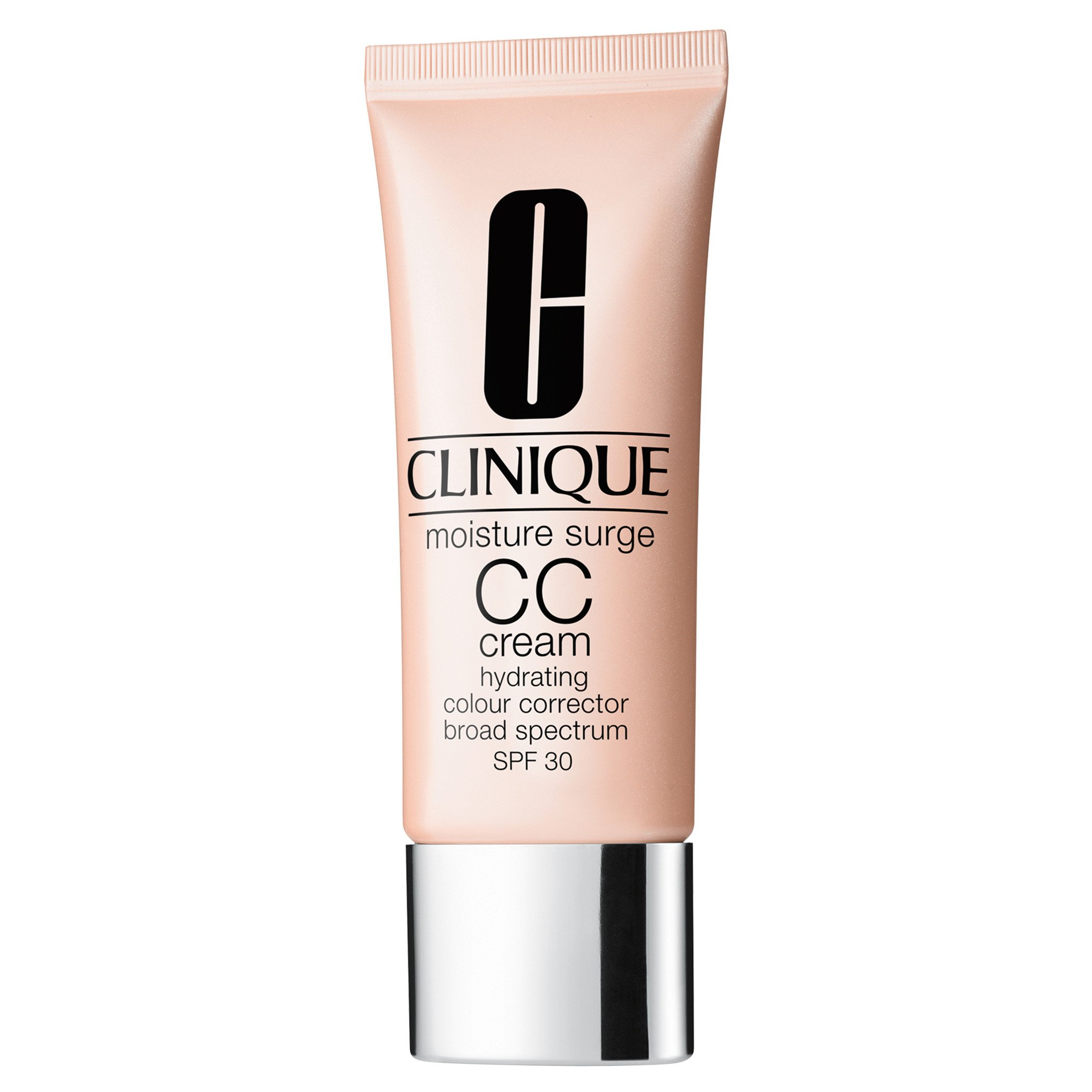 Clinique Moisture Surge CC Cream SPF 30 Hydrating Color Corrector Sunscreen, Medium Deep, 1.4 Ounce