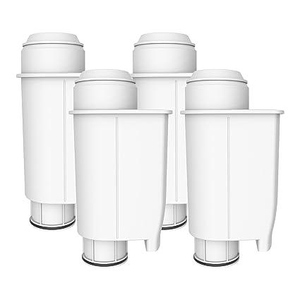 AquaCrest 4 x AQK-02 Reemplazo del Filtro de Agua para máquinas de café -