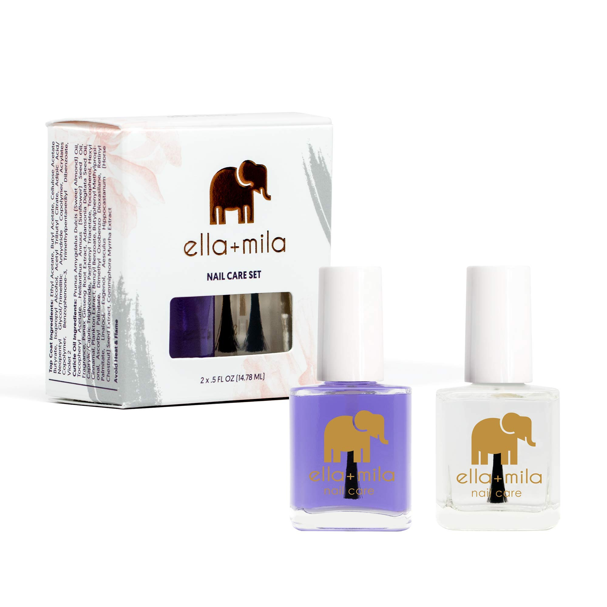 ella+mila Nail Care, Nail Care Duo - (2-Pack) by ella mila