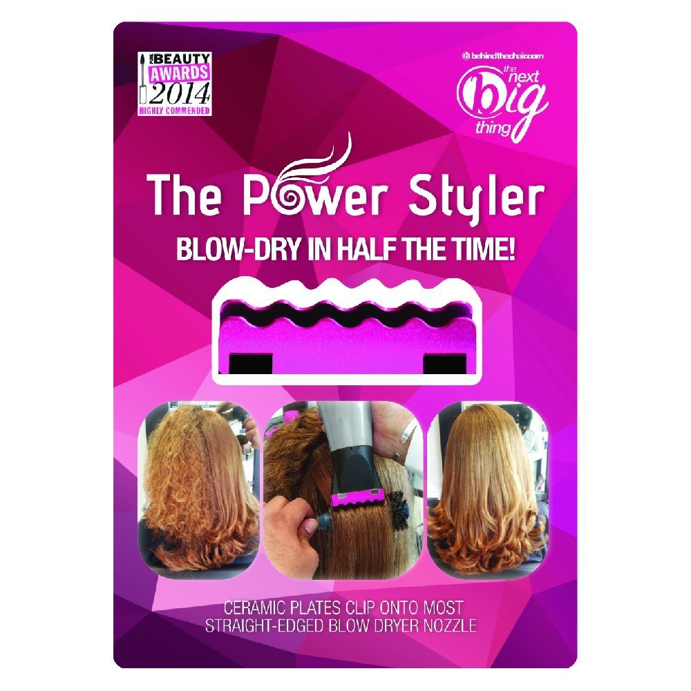 Amazon.com: The Power Styler- Hair Blow Dryer Attachment- Cuts Blow Dry Time in Half (Pink): Beauty