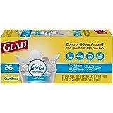 GLAD odorshield quick-tie 小号原装垃圾袋,156支 清香洁净 4 Gallon Bag 156