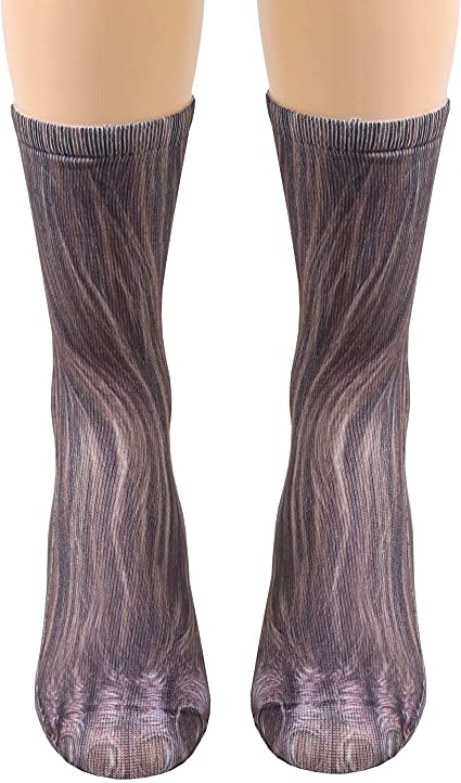 Sweetheart Striped Thigh Highs Red Hearts Pink Hose Adult Costume Accessory