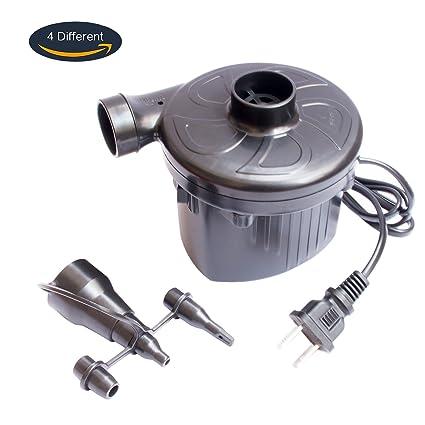 Amazon.com: Bomba de aire inflador, ntall AC 110 V Portable ...