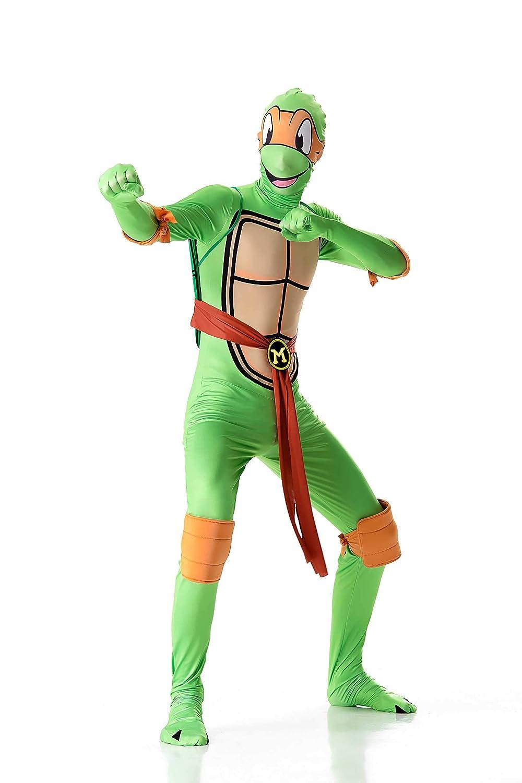 Amazon.com: Mutant Ninja Turtle Costume Halloween Cosply ...
