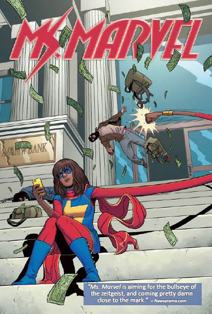 Amazon.com: Ms. Marvel Volume 2: Generation Why (Ms Marvel: Marvel Now!)  (9780785190226): Wyatt, Jacob, Alphona, Adrian, Wilson, G. Willow: Books
