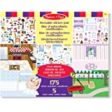 Melissa and Doug 175 Adesivi attacca e stacca - Play House