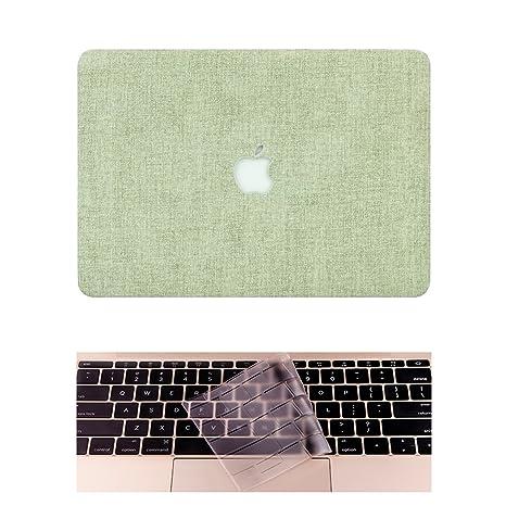 L2W Funda Apple Macbook Portatil Air Carcasa Rígida Protector de Plástico Cubierta para MacBook Air 13 Pulgadas [Modelo:A1466/A1369] Incluso ...