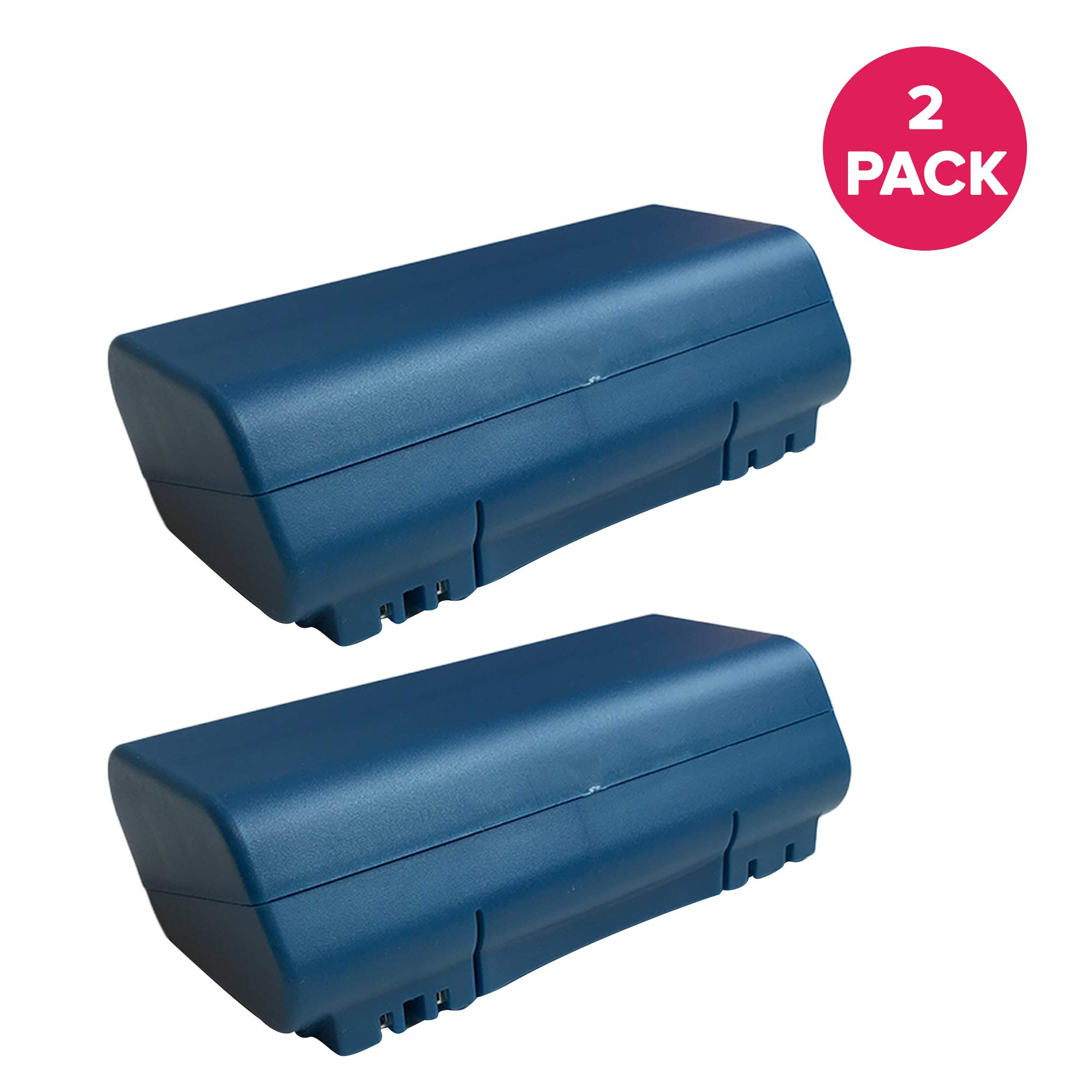 Crucial Vacuum Replacement for iRobot 14.4v, 3500mAh Battery Fits Scooba Series, Compatible with Part # 5900, Long Lasting & Rechargeable (2 Pack)