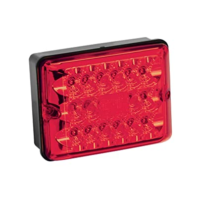Bargman 42-86-101 Tail Light (LED Single with Stop/Tail/Turn - Black Base): Automotive