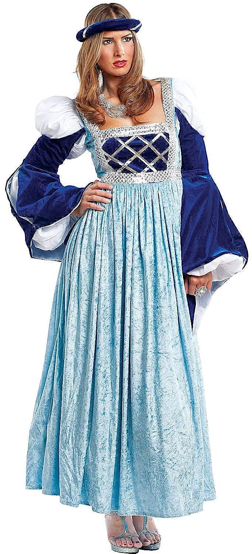 Disfraz CORTESANA Vestido Fiesta de Carnaval Fancy Dress Disfraces Halloween Cosplay Veneziano Party 4471