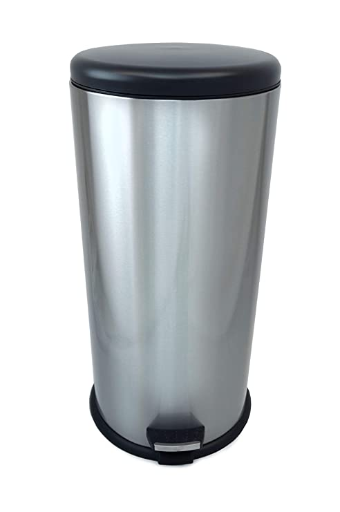 Amazon.com: Fortune-Candy – Bote de basura de acero ...