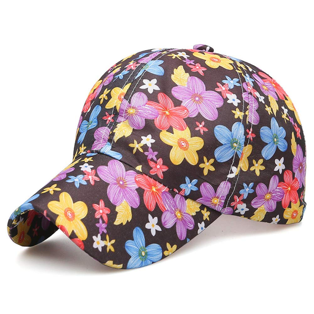 zhuzhuwen 2019 Printed Hat Retro Korean Version of The Small Fresh ...